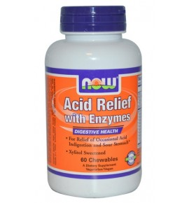 Эсид релиф - acid relief with enzymes 60 табл. - БАД