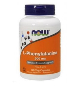 NOW L-Phenylalanine – Фенилаланин 500 мг - БАД
