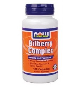 Now Bilberry Complex - Черника комплекс - БАД