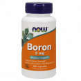 NOW Boron 3mg – Бор 3 мг - БАД
