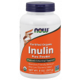 NOW Inulin Prebiotic FOS, Инулин Пребиотик Порошок - 227 г - БАД